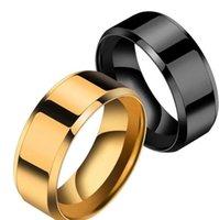 Кольцо мужские титановые черные PS1702