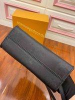 Сумка OnThego M45653 M44576 Женская роскошь дизайнеры сумки подлинные кожаные сумки мессенджер Crossbody