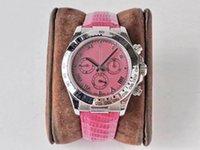 TW produce un orologio da uomo A 904L Cassa in acciaio fine con disco di fritillazione e cinturino in gomma meccanica con cronografo meccanico elaboratamente scolpito 7750