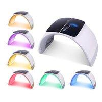7 اللون LED ضوء العلاج قناع الوجه PDT آلة الجمال جهاز تجديد الجلد