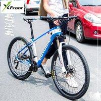 X-Front Горный велосипед Канальная рама из углерода 26/27,5 дюймового колеса 27/30 скорость гидравлического дискового тормоза MTB Bicicleta Downhill Bike Bike Bike Bike