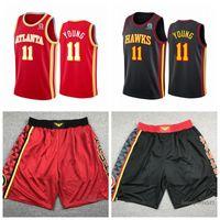 Homens jerseys de basquete trade 11 jovens zion 1 williamson cidade costurada edição 2021 Rain_Bow shorts 0622
