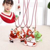 Gift luminous toy LED rope cartoon pendant children's Flash Necklace