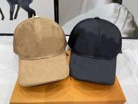 Модные мужские и женщины Casquette Ball Caps Bareber Cap Cap Hat Hat Hat Snapback Bearie Skull Caps Stingy Breim Высочайшее качество для подарка HB0402