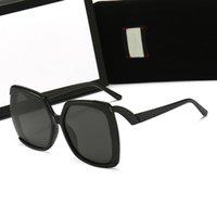 Top Gafas de sol de diseño de lujo para mujeres Gafas polarizadas polarizadas de alta calidad Moda Marco completo Marca original