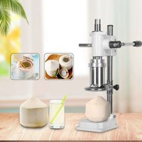 Hot Commercial Lever Style Openers Hand Press Green Coconut Opening Holing Machine Small Manual Fresh Coconuts Hole Punching Machines