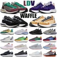 sacai ldv waffle ldv blazer ld steamwaffle waffle running shoes уличная мужская женская массивный смуглый тройной черный дизайнер мужские женские кроссовки спортивные кроссовки