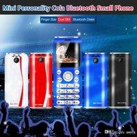 """2022 Dual SIM Bluetooth Câmera Dialer Super Mini K8 Push Button celular 1.0 """"Mãos Telefone Celulares MP3 Smallest China China Celular"""