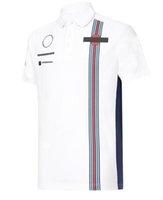 F1 레이싱 팬 반팔 티셔츠 반팔 폴로 빠른 건조 슈트 팀 레이싱 슈트 맞춤 F1 오프로드 폴로 셔츠