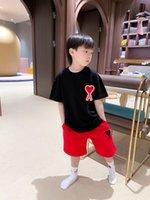 Neue Stil Kinder Jungen Mädchen Baumwolle T-Shirt + Shorts 2Pc Sets Kleidung Sommer Baby Kinder Jungen Lässig Outfit