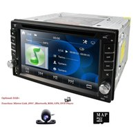 Player 6.2 Inch 2DIN Universal Car DVD Stereo Audio Head Unit WINCE Multimedia RDS DAB SWC BT MAP CAMERA SD Mirror Link Cam