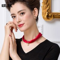 Dachangzhi Pearl Pendant Necklace versatile silk small scarf lady Mulberry Silk Neck 1014