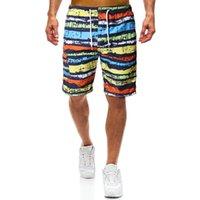 Pantalones cortos para hombres Pantalones cortos para hombres RaiOW Rango de los hombres Quick Secking Shorts Natación Troncos Turismo Holiday Island Playa Pantalones MDK07