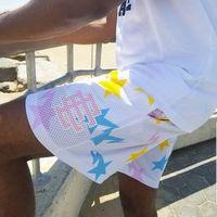 Eric Emanuel EE Basic Short York City Fitness Muscle Sports Capris Tide Beach Pants Mesh traspirante