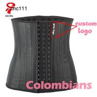 AICONL Latex Entraîneur Corset Belly Plus Slim Ceinture Shaper Shaper Strap Strap Corps Ficelle Taille Cincher Fajas Colombianas {Catégorie} A5T1