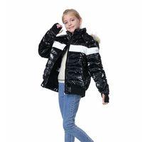 OrangeMom 브랜드 십대 겨울 코트 화이트 오리 8-18 년 동안 어린이 재킷 아래로 어린이 재킷 소년 소녀 옷 따뜻한 파카 엄마와 나 211011