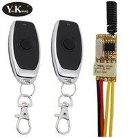 Smart Home Control 7.4V Small RF Remote Switch 433 315 4.2V 4.5V 5V 6V 9V 12V Mini Relay Contact Wireless Switches NO COM NC PC Button