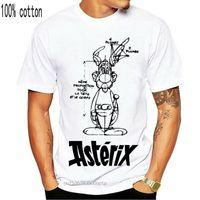 T-shirt Asterix e Obelix T-Streetwear T-shirt a maniche corte Uomo ImanFive Cotton XXX Graphic Graphic Maglietta fantastica
