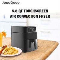 Joooooodeee 5.8 qt elétrico Air Fryer Hotoven Oilless Fogão LED Touch Tela Digital com 7 Predefinições, Cesta Squeira Nonstick