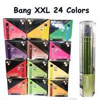 24 Couleurs Bang XXL Jaure jetable Vape Stylo de Vape Plus XL Flow 2000cuffs 6ml Capacité Pile Vaporisateur rapide