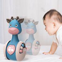 Ciervos corredizos Bebé Vacerrquete Aprendizaje Aprendizaje Educación Juguetes Recién Nacido Monte Infantil Mano Bell Bell Cochecito Móvil Vocal Roly-Poly Toy