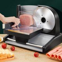 Électricité 200W Slicer ELECTRICHER Lambons de la viande Tranches de viande de pain chaud Pot de bureau Machine de découpage de viande de bureau 220V
