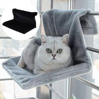Cat Beds & Furniture Hammock Hanging Removable Dog Foldable Bed Iron Frame Radiator Pet Products