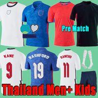 2021 EnGLand Soccer Jerseys Angleterre KANE STERLING Men + Kids SANCHO RASHFORD LINGARD DELE Football Shirts 20 21 22 maillot de foot STONES Kits Shorts Uniform Set