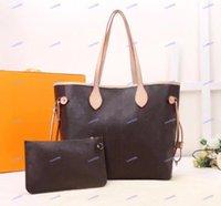 Borsa Donna Messenger in pelle borsetta da sera 4 colori lattice 2pcs set totes di alta qualità Top PU luxurys designer borse a tracolla da donna