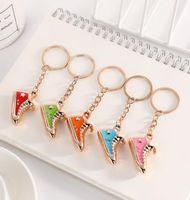 220Pcs Cute sneaker Keychains Creative Star decoration chain Handbag pendant Sports Keychain Customize HYS72-8