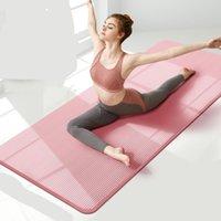 10 mm 15 mm Mat de yoga NRB Mats antideslizantes para fitness Pilates extra gruesos Gimnasio Almohadillas de ejercicio Alfombra Alfombra de yoga Esterilla Tapete Mat 572 x2