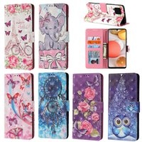 Painted Flip Leather Case On For iPhone SE 6 7 8 6S 11 12 Pro X XS XR Max 2020 Phone Wallet Card Holder Stand Book Cover Coque