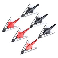 3/6 / 12 pcs tiro com arco 2 Extensível lâmina Broadhead 100gr arrow Dicas de cabeça Pontos para compostos de arco e flecha acessórios de caça