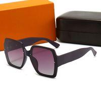 2021 Occhiali da sole polarizzati di alta qualità Donne Uomo Square Quadrato classico 537 Occhiali da sole EyeWare Modo UV400 Stile Stile Stile Stile Lenti di protezione del telaio completo