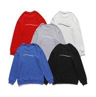 065 고품질 남성과 여성의 후드 브랜드 럭셔리 디자이너 까마귀 스포츠웨어 스웨터 패션 트랙 슈트 레저 자켓