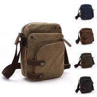 Корейский верситель сплошной износостойкий холст сумка мужская мода улица Trend прохладный одно плечо мессенджер путешествия портативные сумки