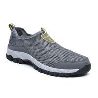 Scarpe casual eugb respiro slip-on sneakers idrafei idrafei in maglia estiva zapatos L'hombre scarpe a piedi casuali uomo 39-49 A66Y