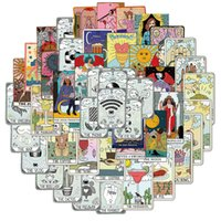 50 Tarot cards graffiti stickers decoration car trunk Skin Protectors motorcycle notebook water proof Computer Accessories