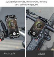 Bicycle Phone Holder Motorcycle Bike Phone Holder Handlebar Cell Phone Stand Mount Bracket Accessories Bike GPS Mount Bracket