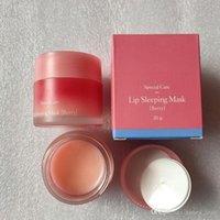 Lábios cor-de-rosa maquiagem plumper laneige cuidados especial cuidado labial máscara de dormir batom berry hidratante anti-envelhecimento anti-rugas lábio 20g