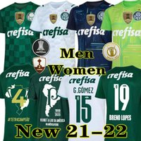 Высочайшее качество 21 22 22 Palmeiras Soccer Jersey Home Green Dudo G.jesus Жан Alecsandro 2021 Palmeiras ay Allione Cleiton Xavier футбол