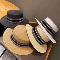 الصيف إمرأة واسعة بريم قبعة الأزياء مصمم النساء سترو قبعة دلو قبعة حديقة أنماط مصممي قبعات القبعات gorro