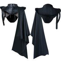 Reaper Mantel Halloween Party Demon Dress Up Kostüm Vampir Mantel Männlich Mittelalterliches Retro-Tuch
