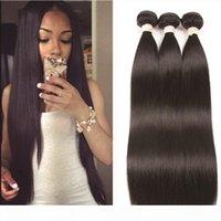 Msjoli Loose Wave Body Wave Straight Hair Brazilian Hair Three Bundles Peruvian Virgin Human Hair Malaysian Indian Mink 9A Grade Msjoli
