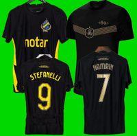 S-XXL 21 22 Fotboll 130 anni Camicia da calcio Jersey Camicia Nero Golden PapagianNopoulos Rogic Larsson Tihi 2021 2022 AIK 130th Anniversary Top Quality Uniform