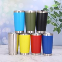 Water Bottles 20 OZ Stainless Tumbler Vacuum Double Wall Insulation Travel Mug Coffee Insulated Steel Thermal Cup