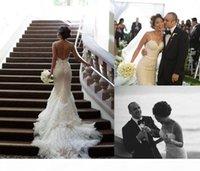 2015 старинные русалки свадебное платье с спагетти ремешок часовня поезда ютные кружевные свадебные платья многоуровневые складки аппликации без спинки свадебное платье