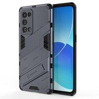 Прочные доспехи, скрытые бэкстанда для заднего доспеха для OPPO RENO 6 PRO PLUS K9 Realme V13 8 5G Q3 Q3i GT Neo Найти X3 Phone Coque
