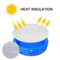 Pool & Accessories Round Swimming Solar Cover Protector Insulation White Zwembad Accessoires