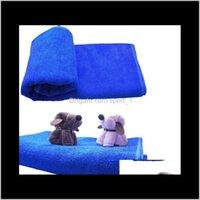 30x30cm Blaue weiche Mikrofaser Reinigungstuch für Auto Waage Tuch Pflege Square Home Badezimmer Küche Wasch- Wasch- WA1606 yscfm iptxt